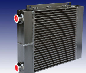 Aluminum Flat Tube Heat Exchanger with SGS Certification pictures & photos