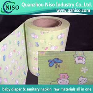 Baby Diaper Brushed Loop Frontal Tape with Ls-Blf0817 pictures & photos