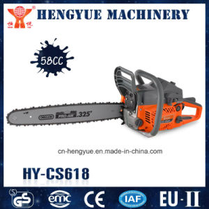 High Quality China Cheap Gasoline 58cc Chainsaw with High Quality pictures & photos