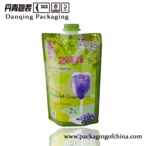 Guangdong Drinking Pouch, Sachet, Plastic Packaging Bag with Spout pictures & photos