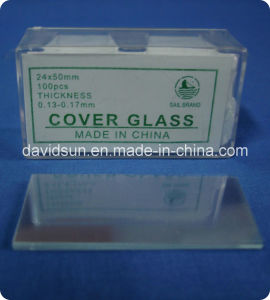 Disposable Microscope Slide and Cover Glass pictures & photos