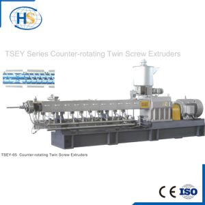Co-Rotating Twin Screw Extruder Extrusion Line CaCO3 Filler Masterbatch Machine pictures & photos