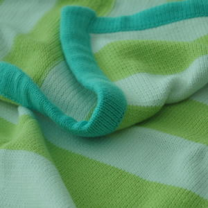 Soft Cotton Sweater Knit Baby Blanket CB-K1306 pictures & photos