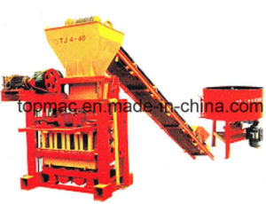 Manual Block and Brick Making Machines Qtj4-40 pictures & photos