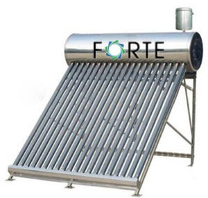 High Efficiency Vacuum Tube Non-Pressure Solar Water Heater pictures & photos