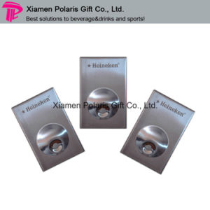 Stainless Steel Wall Mounted Bottle Opener with Magnet pictures & photos