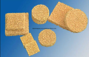 Ceramic Zirconia Foam Filter for Reducing Slag Inclusions pictures & photos