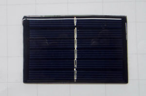 Solar Power Product Solar Panels Polycrystalline Silicon 3V/180mAh Lh-8555