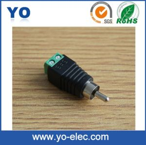 RCA Plug with Screw Terminal (Y 3007)