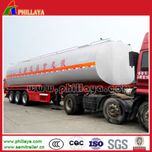3axles Tanker Semi Trailer Chemical Tank for Sulfuric/Hydrochloric Acid Transport pictures & photos