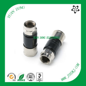 Electronic Connector CATV Compression Connector for Rg11 Coaxial Cable pictures & photos