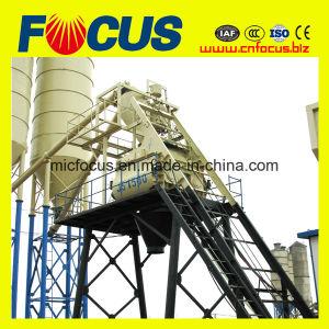 Hot Sale Hzs75 Climb Bucket Concrete Batching Plant pictures & photos