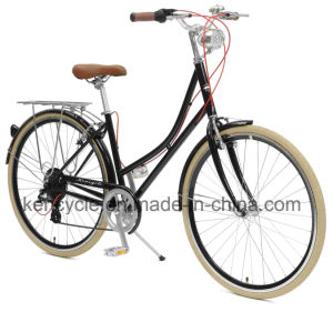 "2017 New Design 28"" Retro Aluminum Dutch Holand Oma Bike Vintage City 7speed Bike/ pictures & photos"