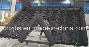 Roofing System Used Glazed Sheet Metal pictures & photos