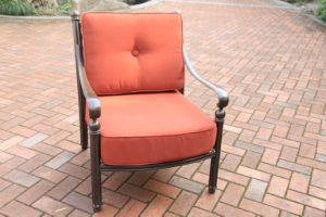 Leisure Garden Club Chair Cast Aluminum Furniture pictures & photos