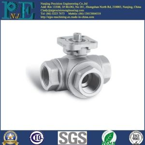 Customized Aluminum Invesrment Casting Tee Joint pictures & photos