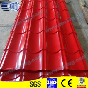 color coating building steel roof sheet/plate pictures & photos