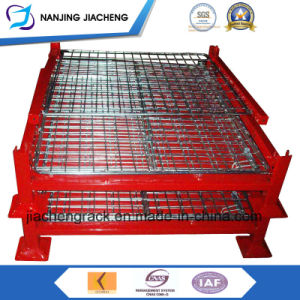Hot-Selling Stackable Folding Mesh Steel Cage for Warehouse or Logistics pictures & photos