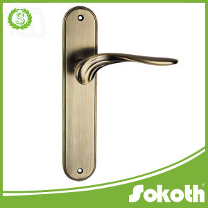 Sokoth 2016 Zink Door Handle, on The Plate Lever Handle pictures & photos