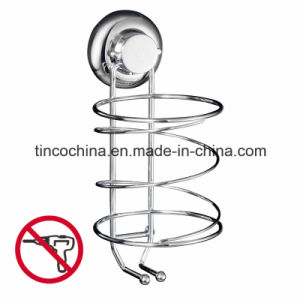 Stainless Steel Hair Dryer Holder, Fixing Without Drilling, Vacuum Suction Cup, Household Products