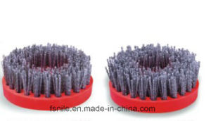 Round Antique Abrasive Grinding Brush for Stone (Round 100mm)