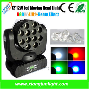 12X12W RGBW 4 in 1 Mini LED Moving Head pictures & photos