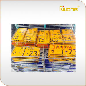 High Security Car Plate, Security Car Plate Number pictures & photos