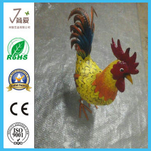 Metal Iron Cock Decoration, Metal Cock Sculpture Home Decoration pictures & photos