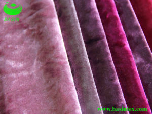Weft Knitting Ice Velvet (BS2107) pictures & photos