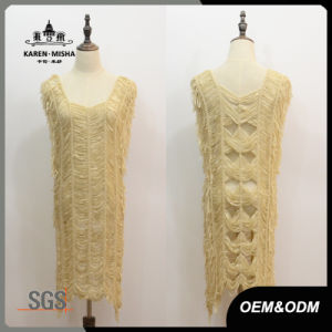 Women Special Design Knit Dress pictures & photos