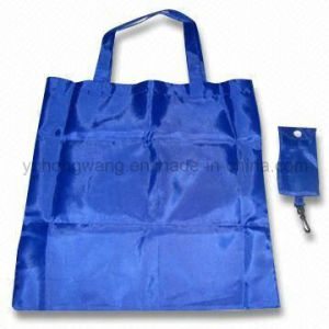 Customized Fold Drawstring Shopping Bag pictures & photos