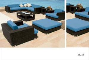 PE Rattan Lyingbed Rattan Daybed Outdoor Furniture pictures & photos