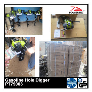1700W The Most Popular Gasoline Hole Digger (PT79003) pictures & photos