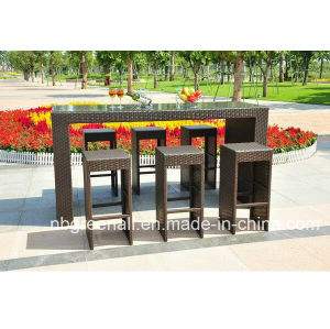 Outdoor Rattan Bar Sets Wicker Furniture pictures & photos