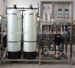 1t/H Reverse Osmosis Water Purification Unit Solar Desalination System for Drinking Water Process pictures & photos