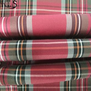 Cotton Poplin Woven Yarn Dyed Fabric for Garments Shirts/Dress Rls60-6po pictures & photos