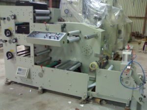 Two Color Stickers Flexo Printing Machine (Zb-320-2C) pictures & photos