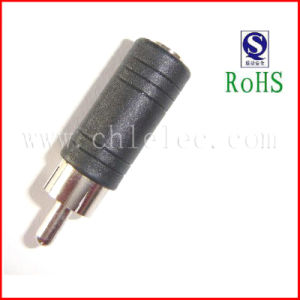 RCA Male to 3.5 Female Connector in China pictures & photos