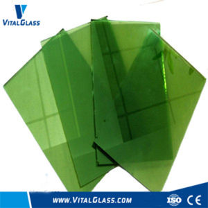 Dark/French Green Reflective Glass/Tinted Float Glass/Stained Glass pictures & photos