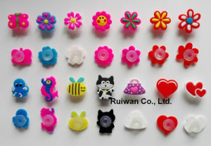 Wholesale 3D PVC Rubber Shoe Charms for Kids Shoe Decoration pictures & photos