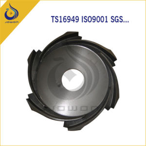 CNC Machining Iron Casting Water Pump Parts Impeller pictures & photos