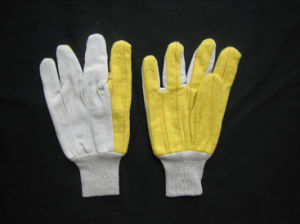 Hot Mill Heat Resistant Cotton Work Glove -2109 pictures & photos
