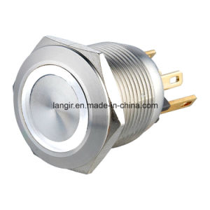 22mm Micro Trip Stainless Steel Momentary Normal Open Metal Switch pictures & photos