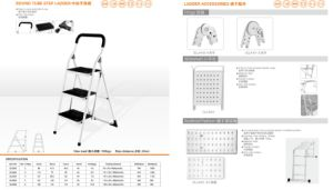 Round Tube Step Ladder and Ladder Accessories pictures & photos