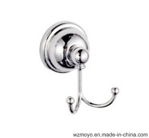 Sanitary Double Robe Hooks in Chrome Finish pictures & photos