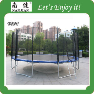 16ft4.88m Big Round Trampoline, High Quality Gymnastic Combo Outdoor Fitness Trampoline Wholesale Nj-Big16 pictures & photos