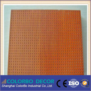 Sound Absorber Wooden Perforated Acoustic Panel pictures & photos
