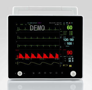 12.1inch Flat Panel TFT Multi-Parameter Patient Monitor with CE and FDA pictures & photos