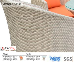 Poland Dining Set Living Furniture PE Wicker Rattan Garden Chairs pictures & photos