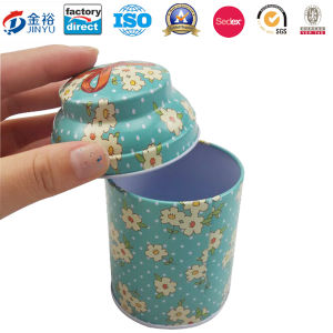 Irregular Shaped Metal Tea Coffee Food Container pictures & photos